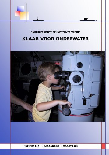 KLAAR VOOR ONDERWATER - Reunistenvereniging Onderzeedienst