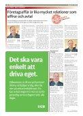 Företagarna föryngrar med Mathias Eriksson - Markbladet - Page 6
