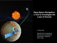 Deep-Space Navigation - IHES