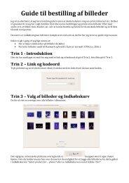 Guide til bestilling af billeder