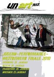 Jugend-Performance- WettbeWerb finale 2010 - Staatsschauspiel