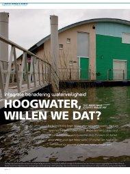 Hoogwater, willen we dat? - Water, Wonen & Ruimte
