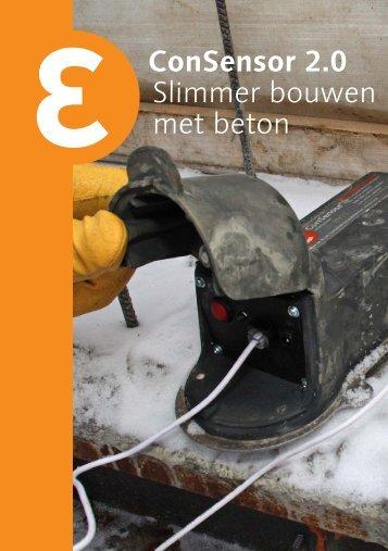ConSensor 2.0 Slimmer bouwen met beton