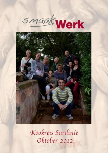 Kookreis Sardinië Oktober 2012 - Smaakwerk