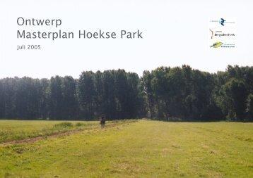 Ontwerp Masterplan Hoekse Park - Stadsregio Rotterdam