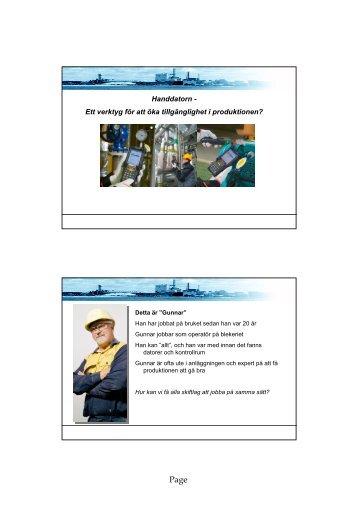 Intertechna mobil ronderingslösning. - ProcessIT Innovations