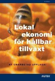 Lokal ekonomi för hållbar tillväxt - Hela Sverige ska leva
