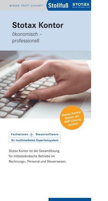 Stotax Kontor - Stollfuß Medien