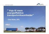 """Veje til mere energieffektive transportvirksomheder"""" - Transportens ..."""