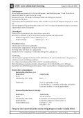 Skötselinstruktioner - Elektro Relä - Page 2