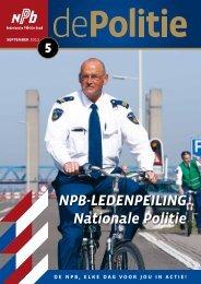 NPB-LEDENPEILING Nationale Politie - Nederlandse Politiebond.nl