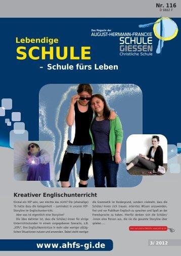 Magazin 116 - August-Hermann-Francke-Schule