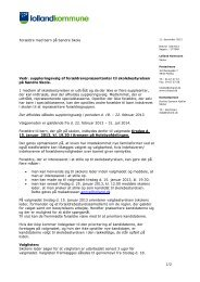 Info brev til forældre med børn på Søndre - Holeby Skole
