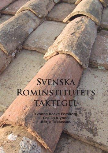 artikel om institutets taktegel - Svenska Institutet i Rom