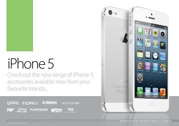 iPhone 5 Catalogue :: New Zealand :: www.webcell.co.nz :: 0800 ...