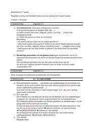 Nederlands in 1e graad Mogelijke invulling met freinettechnieken ...