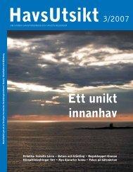 HavsUtsikt nr 3,2007 - Havet.nu