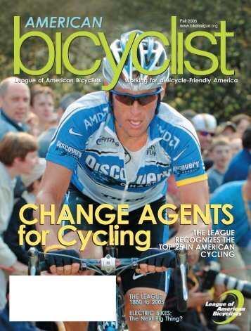 CHANGE AGENTS For Cycling - Wheeling Wheelmen Bicycle Club