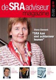 Lees hier de PDF-versie van deSRAadviseur nr 01 maart 2012
