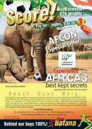A5 Pamphlet print file copy - KZN Wildlife