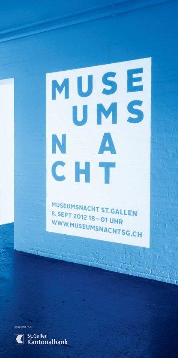 Hauptsponsor Partner - Museumsnacht St.Gallen