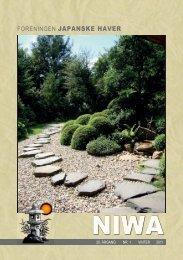 NIWAs planteforslag - Foreningen Japanske Haver