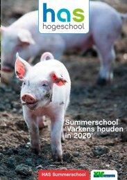 Dan is de Summerschool 'Varkens houden in 2020' - HAS Hogeschool