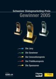 Gewinnerbroschüre 2005 - DM-AWARD