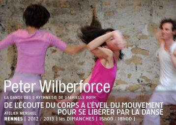 afficher la plaquette - Peter Wilberforce