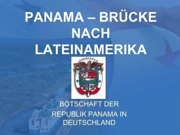 Panama - Lateinamerika-Initiative der Deutschen Wirtschaft (LAI)