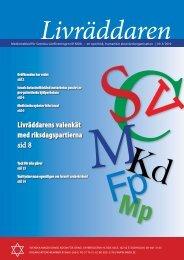 Livräddaren nr 3/2010 (pdf) - SMDA