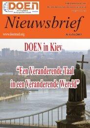 Новый номер журнала Nieuwsbrief - DOEN