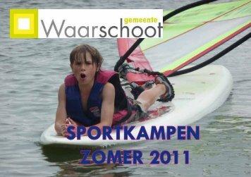 SPORTKAMPEN ZOMER 2011 - Gemeente Waarschoot