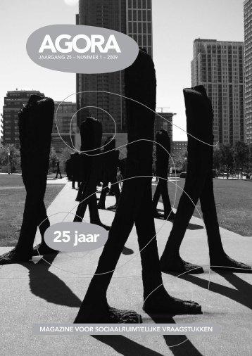 AGORA 2009-1 25 jaar - AGORA Magazine