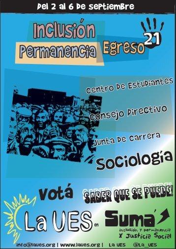 Plataforma Sociología