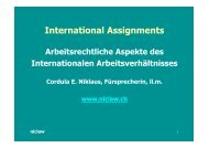 International Assignments - niclaw
