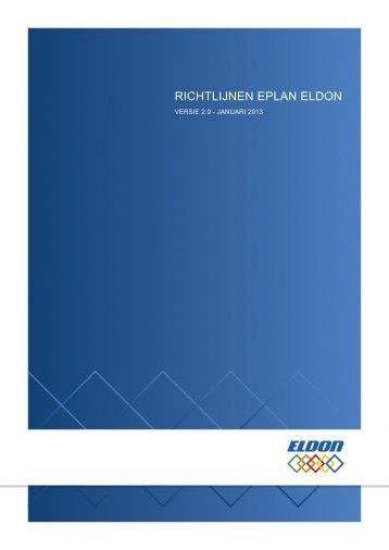 Gebruiksaanwijzing - Eldon