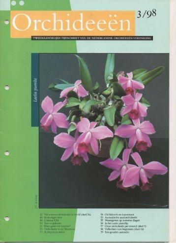 1998 - 3 - Orchideeën Vereniging Vlaanderen