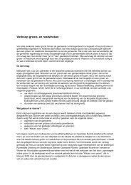 Verkoop groen- en reststroken - s-Hertogenbosch