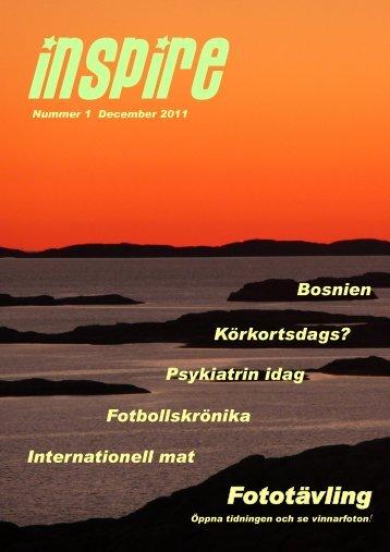Tidningen Inspire #1 - SPIRA i Mölndal