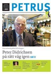 Petrusbladet 1/2011 - Helsingfors församlingar