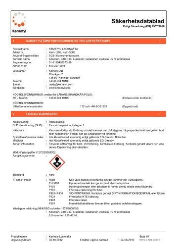 dax handdesinfektion 85 säkerhetsdatablad