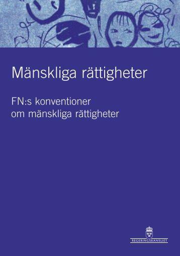 mr-en introduktion - Mänskliga rättigheter