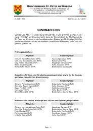 Ausschussmitglieder und Organe außerhalb der Gemeinde (70 KB