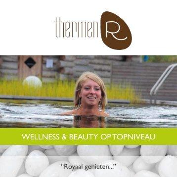 Wellness & beauty op topniveau - Thermen R