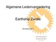 Powerpoint presentatie ALV 29 oktober 2011 - ZPV