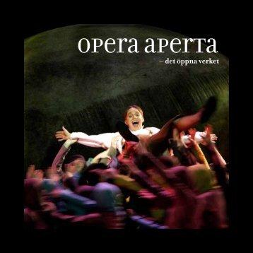 Opera Aperta - Åsa Mälhammar - Malmö Opera