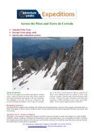 Across the Picos and Torre de Cerredo - Adventure Peaks