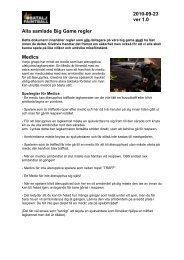 Alla samlade Big Game regler 2010 ver1 - Batalj Paintball