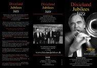 Dixieland Jubilees, Brochure, Dansk 2011